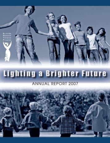 Lighting a Brighter Future - Eastside Domestic Violence Program