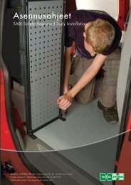 Asennusohje SABI - Modul-System