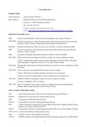 CV (pdf) - University of Essen - Universität Duisburg-Essen