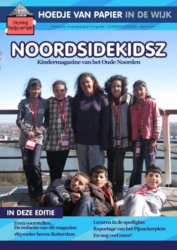 Kindermagazine van het Oude Noorden - Wijktijgers