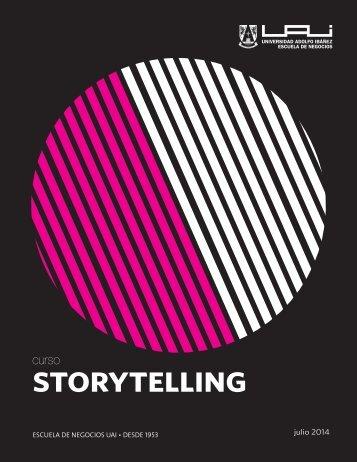 STORY TELLING - Universidad Adolfo Ibañez