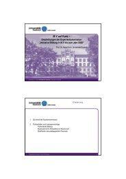 Präsentation zur Vorlesung - Universität Rostock