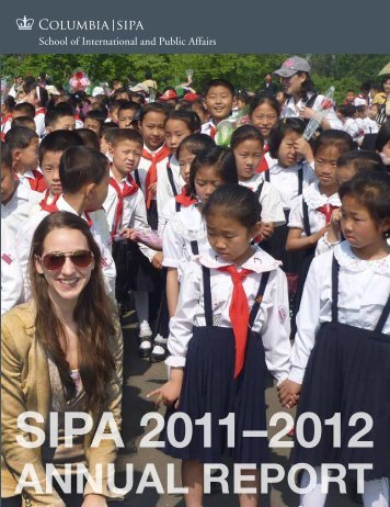 annual report - School of International and Public Affairs - Columbia ...