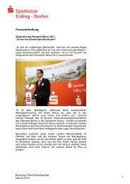 Siegerehrung beim Planspiel Börse 2011 - und Stadtsparkasse ...