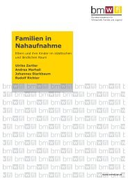 Familien in Nahaufnahme - BMWA