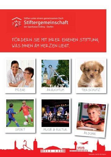 Broschüre (3,1 MB) - und Stadtsparkasse Erding - Dorfen