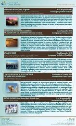 Programmation générale couleur 31 mai 2013 - Agence voyage ...