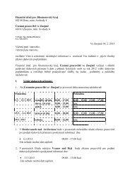 Informace Finančního úřadu pro Jihomoravský kraj, územního ...