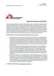 Globalen Verantwortung - Aktionsbündnis HIV/Aids Österreich