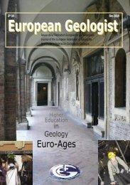 EuroGeologist Magazine - Euro-Ages