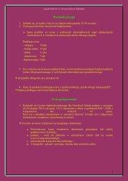 Terminy i zasady rekrutacji- zaoczne
