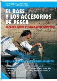 el bass y los accesorios de pesca el bass y los accesorios de pesca