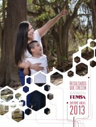 Fundacion FEMSA - Informe Anual 2013