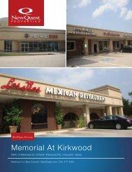 Memorial At Kirkwood - NewQuest Properties