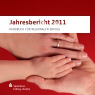 Jahresbericht - und Stadtsparkasse Erding - Dorfen