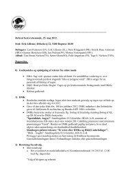 Referat af bestyrelsesmøde 25.05.2012