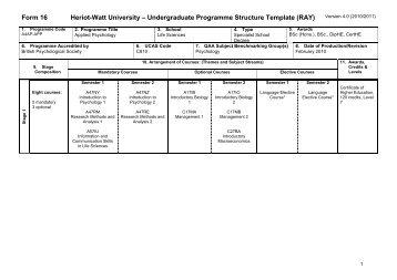 School of Life Sciences - Heriot-Watt University
