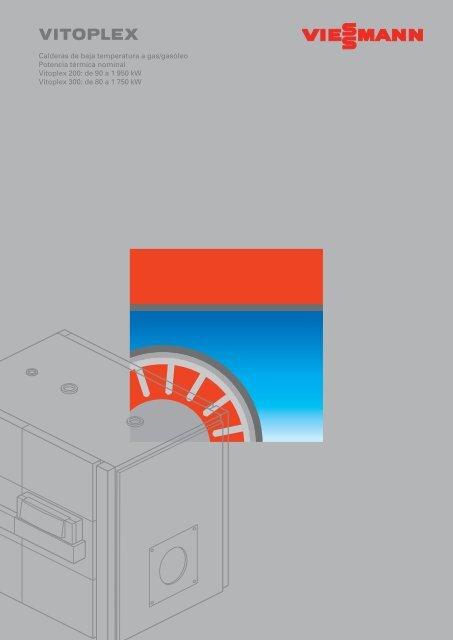 Catálogo a color Vitoplex 200 y 3001.3 MB - Viessmann