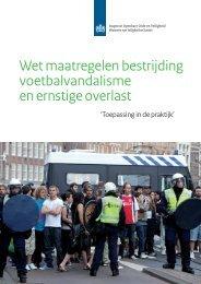 Rapport Monitor wet mbveo - Gemeente Schiedam