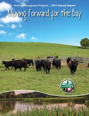 2012 Nutrient Management Program Annual Report - Maryland ...