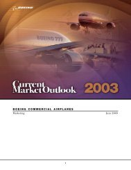 BOEING COMMERCIAL AIRPLANES Marketing June 2003