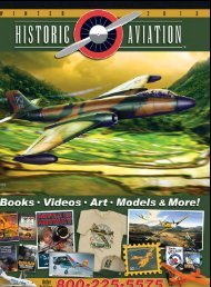W  I  N  T  E  R     2 0 1 3 Order Toll Free: - Historic Aviation
