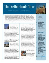 The Netherlands Tour - Europe Express
