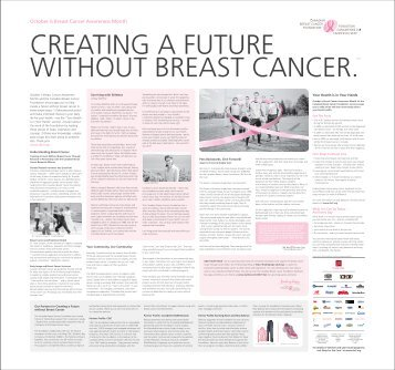 Get Involved - Success Stories - Globe 2010.pdf - Canadian Breast ...