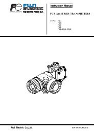 Instruction Manual FCX-AII SERIES TRANSMITTERS - Fagerberg