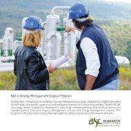 BAS in Energy Management Degree Program - Bismarck State ...