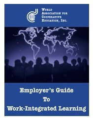 Employer's Guide To Work-Integrated Learning - The Institute of ...