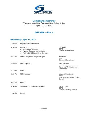April 2012 Compliance Seminar Agenda - New Orleans.pdf