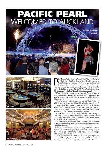 PACIFIC PEARL - Professional Skipper Magazines