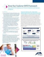 Know Your Customer (KYC) Framework