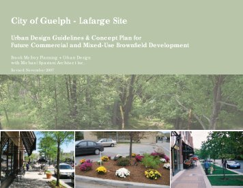 Urban Design Guidelines - City of Guelph