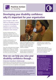 Download the PAfD brochure to find out more about our services