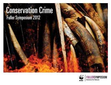 Conservation Crime - World Wildlife Fund