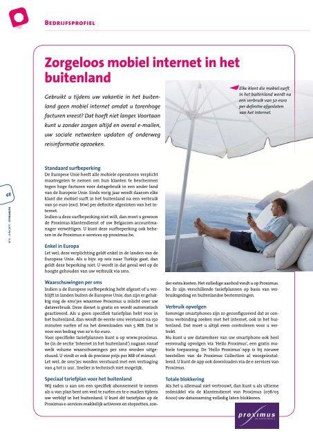 Dynamiek Juni 2011 - BECI