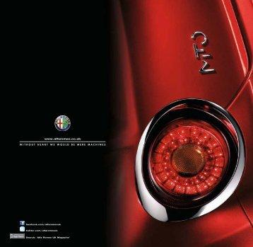 Interiors - Alfa Romeo