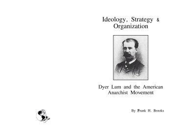 Ideology, Strategy & Organization - Zine Library