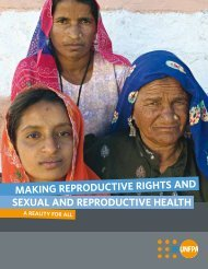 Sexual and Reproductive Health Framework - UNFPA