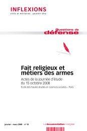 Fait religieux et métiers des armes.pdf - rts.ch