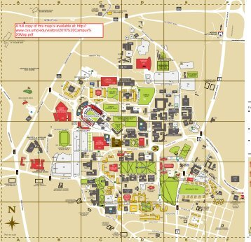 Printable campus map Bluffton University