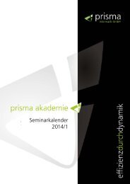 Seminar-Angebot 2014 - Prisma Informatik