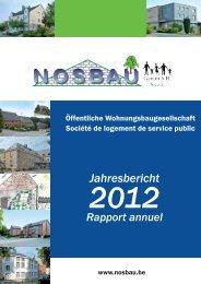 rapport annuel 2012 Jahresbericht.pdf - Nosbau