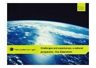 presentation from Eva Eiderström - ECOS (European Environmental ...