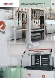 Distribución de lubricantes - Suministros Industriales INTEC