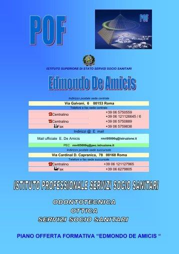pof da approvare - Istituto Edmondo De Amicis