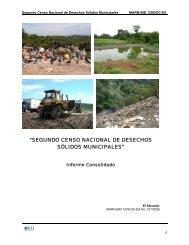 segundo censo nacional de desechos sólidos municipales