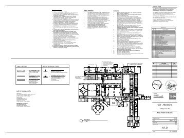 Key Plan & Notes CCI - Alterations